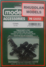 Load image into Gallery viewer, MODEL SCENE ACCESSORIES NO.5179 N GAUGE COWS - (PRICE INCLUDES DELIVERY)