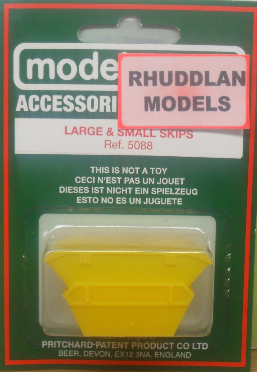 New Model Scene Large and Small Skips  Ref.5088.