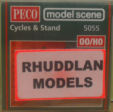 Load image into Gallery viewer, MODEL SCENE ACCESSORIES NO.5055 OO/1:76 CYCLES & STANDS - (PRICE INCLUDES DELIVERY)