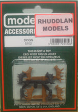Load image into Gallery viewer, MODEL SCENE ACCESSORIES NO.5102 OO/1:76 DOGS - (PRICE INCLUDES DELIVERY)