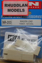 Load image into Gallery viewer, PECO NR-203 N GAUGE WAGON LOAD TIMBER-NATURAL - (PRICE INCLUDES DELIVERY)