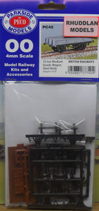 PARKSIDE MODELS PC45 OO/1:76 13 TON MEDIUM GOODS WAGON - (PRICE INCLUDES DELIVERY)