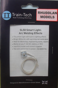 TRAIN-TECH SL-5O SMART LIGHT: ARC WELDING EFFECTS - (PRICE INCLUDES DELIVERY)