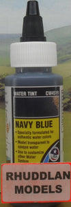WOODLAND SCENICS CW4519 59.1ML NAVY BLUE WATER TINT - (PRICE INCLUDES DELIVERY)