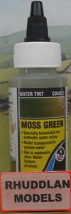 WOODLAND SCENICS CW4521 59.1ML MOSS GREEN WATER TINT - (PRICE INCLUDES DELIVERY)
