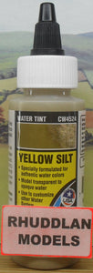 WOODLAND SCENICS CW4524 59.1ML YELLOW SILT WATER TINT - (PRICE INCLUDES DELIVERY)