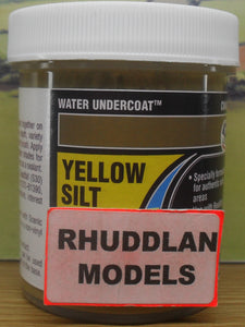 WOODLAND SCENICS CW4535 110ML WATER UNDERCOAT YELLOW SILT - (PRICE INCLUDES DELIVERY)
