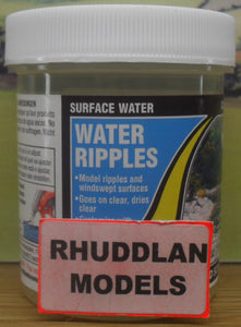 WOODLAND SCENICS CW4515I 118ML SURFACE WATER  WATER RIPPELS - (PRICE INCLUDES DELIVERY)