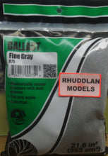 Load image into Gallery viewer, WOODLANDS SCENICS B75 BALLAST FINE GRAY - (PRICE INCLUDES DELIVERY)