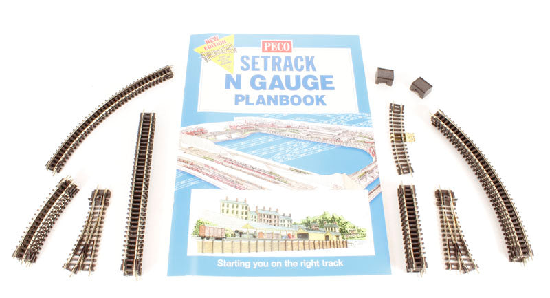 PECO ST-300 N GAUGE STARTER TRACK SET 1ST RADIUS CURVES - (PRICE INCLUDES DELIVERY)