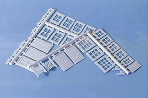 WILLS SS86 OO/1:76 WINDOWS, DOORS, GATES & PORCH - (PRICE INCLUDES DELIVERY)