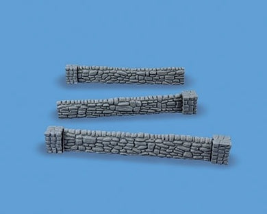 MODEL SCENE ACCESSORIES NO.5090 OO/1:76 STONEWALSS AND BUTTRESSES - (PRICE INCLUDES DELIVERY)