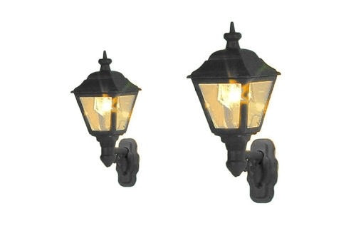 GAUGEMASTER GM827 WALL MOUNTED GAS LAMP GREY UNDERCOAT (2) - (PRICE INCLUDES DELIVERY)