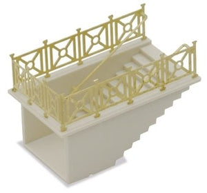 PECO NB-7 N GAUGE SUBWAY STAIRCASE - (PRICE INCLUDES DELIVERY)
