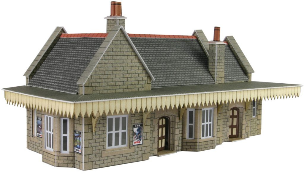 METCALFE PN138 N GAUGE WAYSIDE STATION - (PRICE INCLUDES DELIVERY)