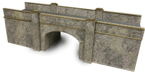 METCALFE PN147 N GAUGE RAILWAY BRIDGE STONE WALL - (PRICE INCLUDES DELIVERY)