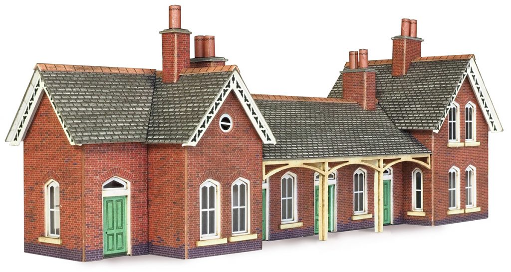 METCALFE PN137 N GAUGE COUNTRY STATION - (PRICE INCLUDES DELIVERY)