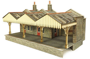 METCALFE PO321 OO/1:76 PARCELS OFFICE - (PRICE INCLUDES DELIVERY)
