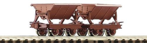 ROCO 34498 OO-9 START SIDE TIPPING WAGONS (2) - (PRICE INCLUDES DELIVERY)