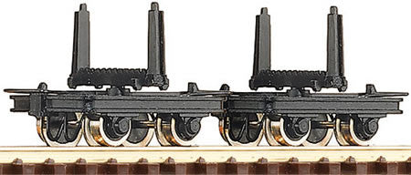 ROCO 34602 OO-9 BOLSTER TRUCK WAGONS - (PRICE INCLUDES DELIVERY)