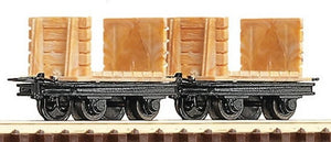 ROCO 34604 OO-9 COAL MINE WAGONS (2) - (PRICE INCLUDES DELIVERY)