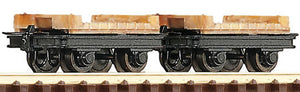 ROCO 34607 OO-9  BRIDGE WAGONS (2) - (PRICE INCLUDES DELIVERY)