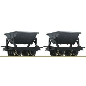 ROCO 34600 SIDE TIPPING HOPPER WAGONS (2) - (PRICE INCLUDES DELIVERY)