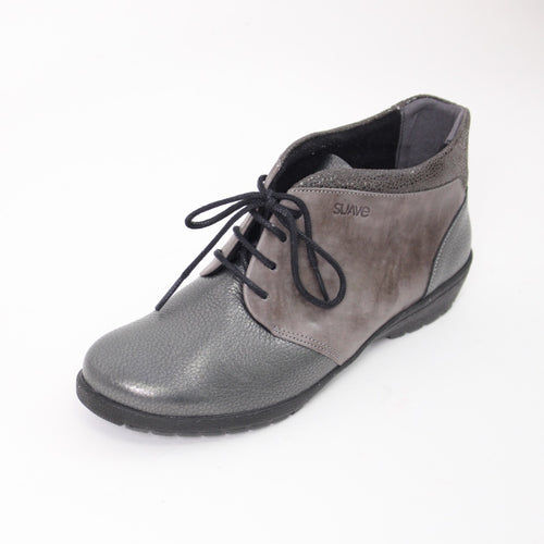 434 Suave Grey/Nubuck Ladies Ankle Boot Size 4