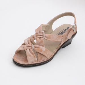 366 Suave Rose Mist Ladies Sandal size 4