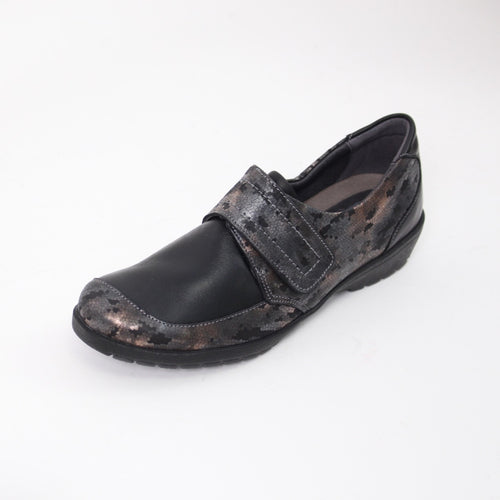419 Suave Jenny Black/Night Ladies Casual Shoe Size 4