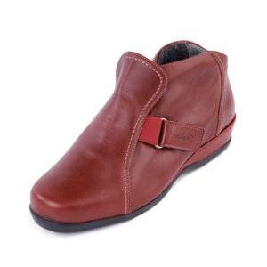 192 Sandpiper Barla Red Extra Wide Boot size 4