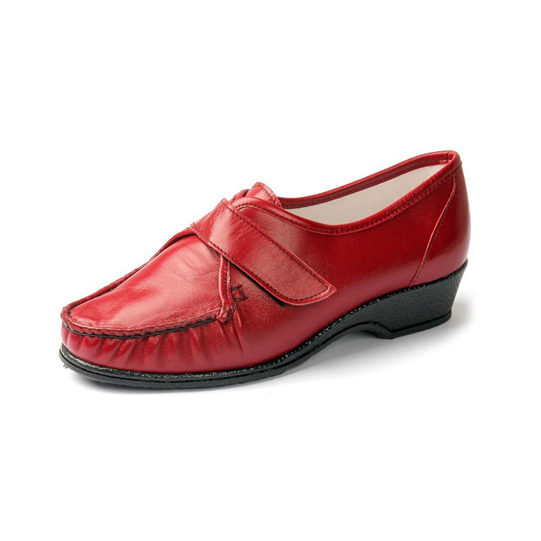 023 Sandpiper Eva Red Extra Wide Shoes size 4
