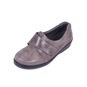 026 Sandpiper Farden Grey Extra Wide Shoes size 4