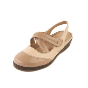 231 Sandpiper Ferring Stone/Beige Extra Wide Shoe size 4