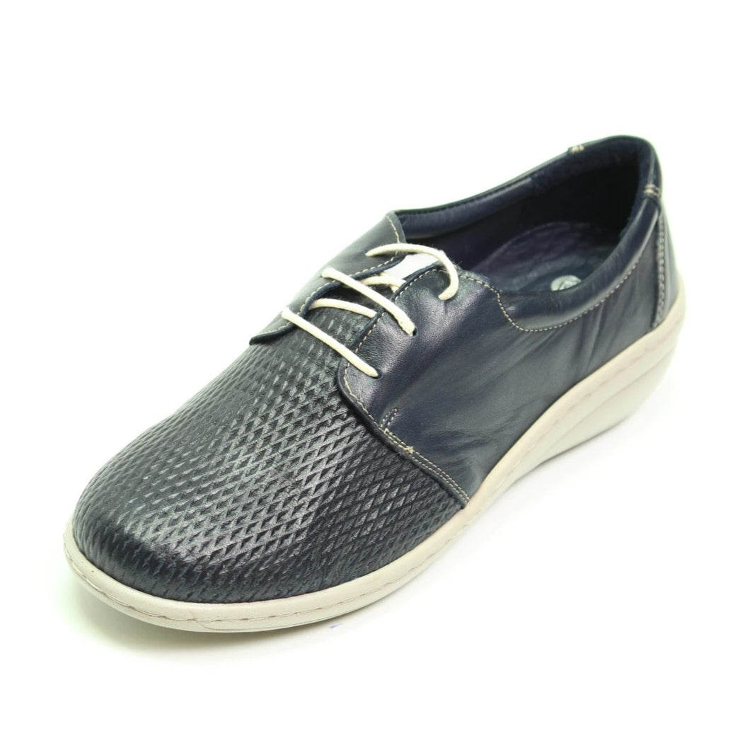 013 Footsoft Camilla Navy Casual Shoe size 4