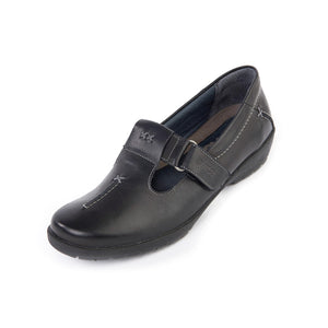 165 Suave Jane Black Casual Shoe size 4