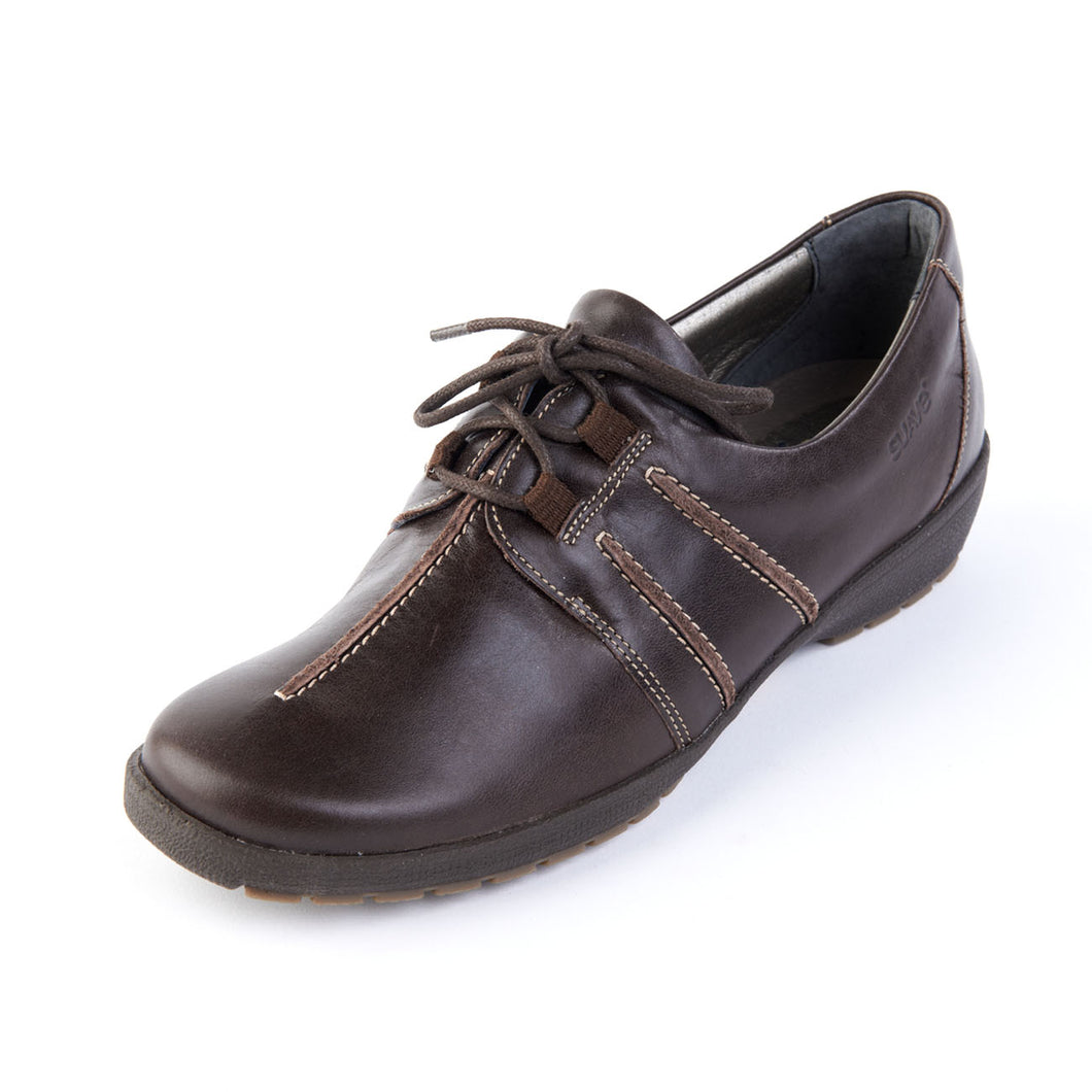 150 Suave Joan Mocca Casual Lace Shoe size 4