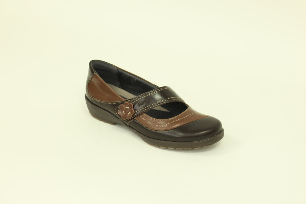 278 Suave Joy Mocca/Coffee Casual Shoe size 4