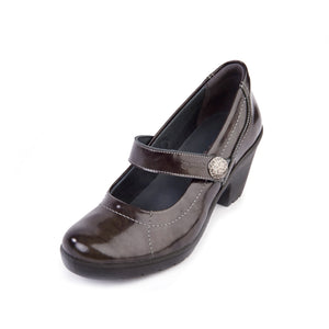 163 Suave Kate Graphite/Patent Casual Shoe size 4