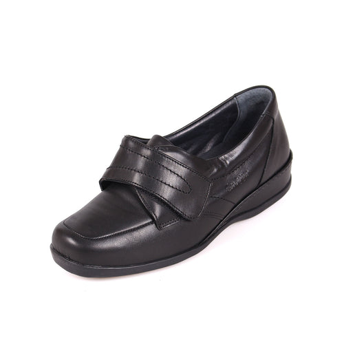 218 Sandpiper Wardale Black Extra Wide Shoe size 4