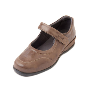 256 Sandpiper Welton Coffee Extra Wide Shoe size 4