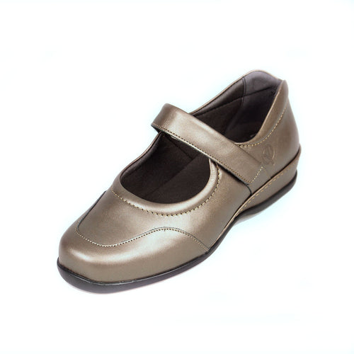 230 Sandpiper Welton Pewter Extra Wide Shoe size 4