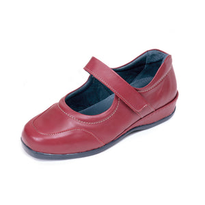 200 Sandpiper Welton Red Extra Wide Casual Shoe size 4