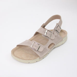 389 Footsoft Beige Ladies Sandal size 4