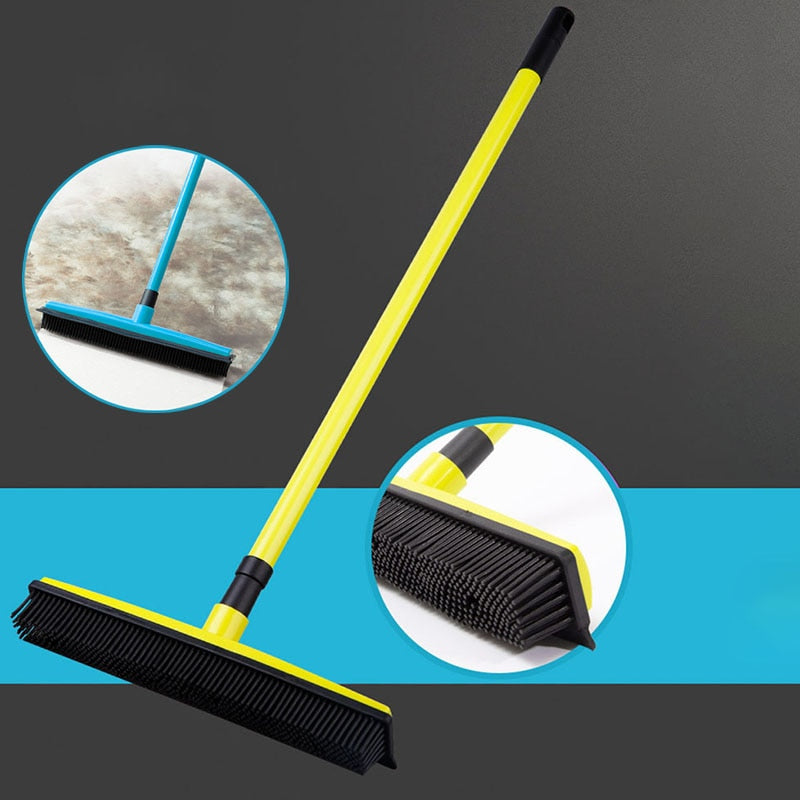Miracle Rubber Pet Hair Broom - Pet Smile Store