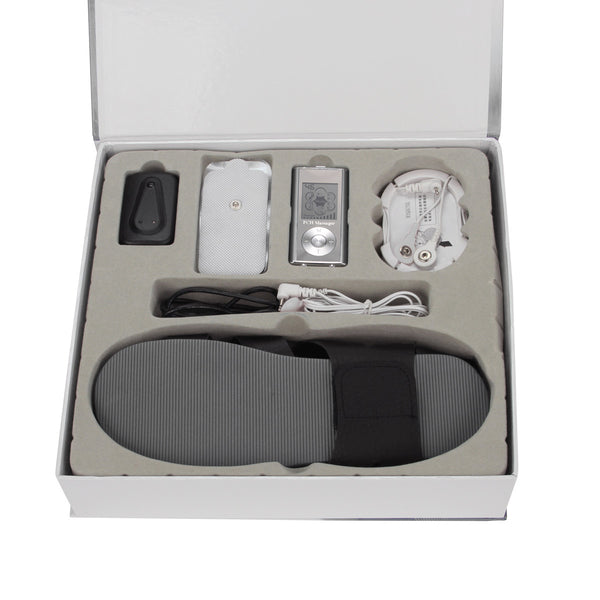 PCH 2 Shoe Massager Combo Set Silver