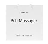PCH 2 Digital Pulse Massager Combo Set Silver