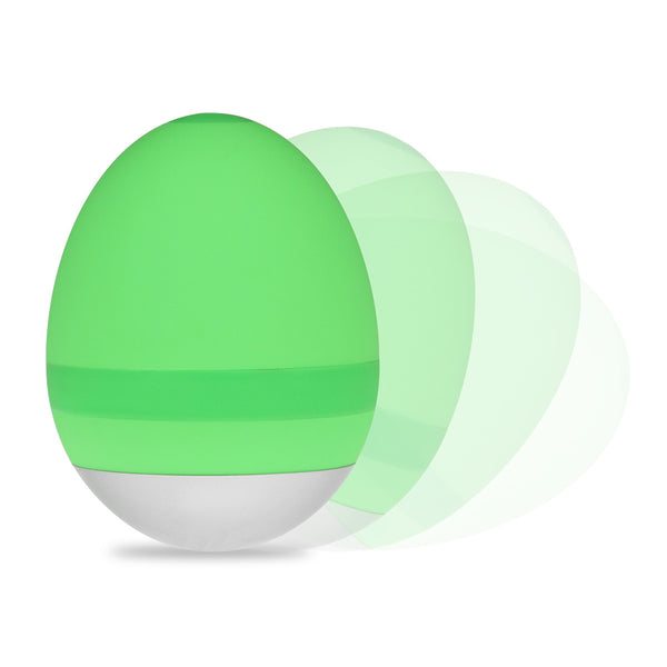 Egg massager - green