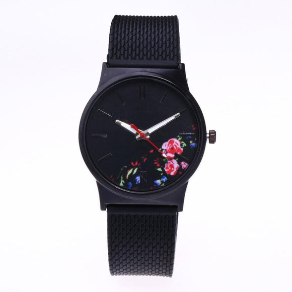 Exquisite Floral Watch
