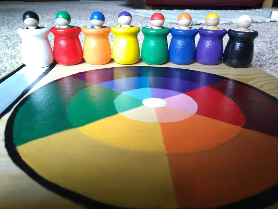 Color Wheel Play and Learning 21 Piece Set